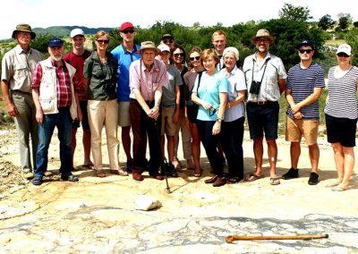 Group of tourist at Salvamento Granite Quarry
